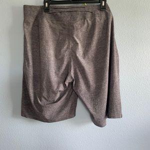 """lululemon athletica Shorts - lululemon athletica Gray El Current 9"""" Shorts 40"""